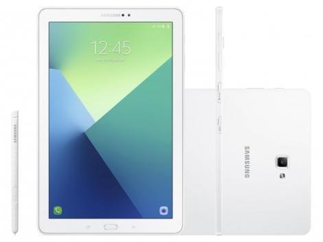"Tablet Samsung Galaxy Tab A Note 16GB 10,1"" 4G - Wi-Fi Android Proc. Octa Core Câmera 8MP + Frontal"