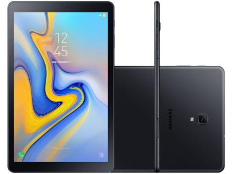 "Tablet Samsung Galaxy Tab A T595 32GB 10,5"" 4G - Wi-Fi Android 8.1 Octa Core Câm 8MP Gravação 4K"