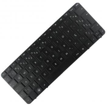 Teclado HP Compaq Mini 110-3500, 110-4100, 210-2000, 210-3000, 1103, Presário CQ10-700 - Preto - HP Compaq