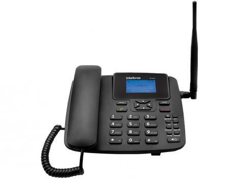 Telefone Rural Intelbras 2G com Internet - CF 4201