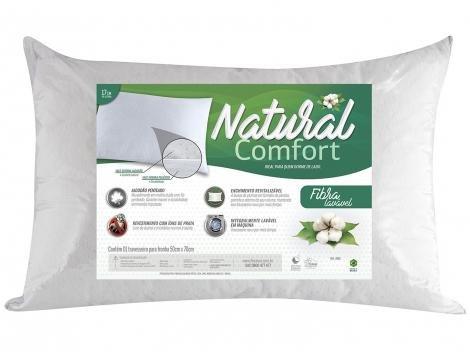 Travesseiro Fibrasca  - Natural Comfort 4165