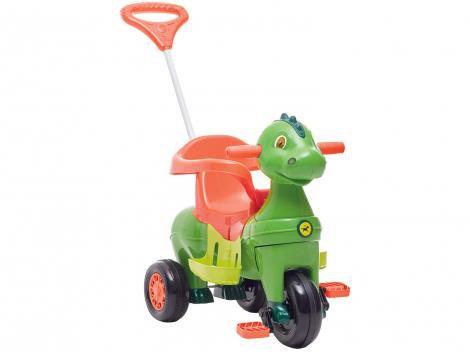 Triciclo Infantil Calesita com Empurrador - Didino