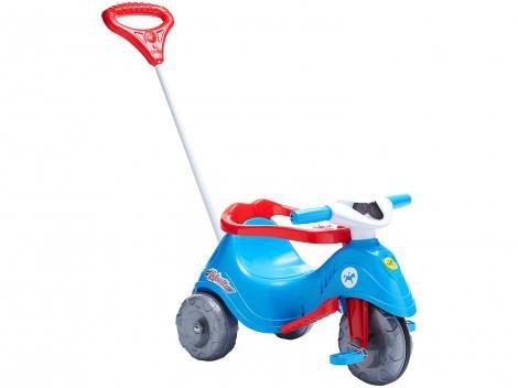 Triciclo Infantil Calesita com Empurrador - Lelicita