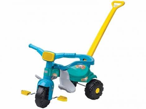 Triciclo Infantil Magic Toys Cebolinha  - Haste Removível