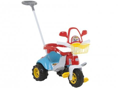 Triciclo Infantil Magic Toys Zoom Max - Haste Removível