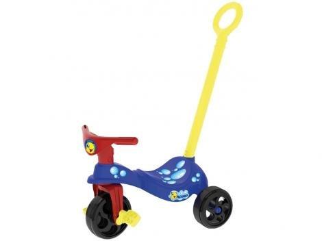 Triciclo Infantil Xalingo Peixinho - Haste Removível