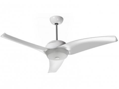 Ventilador de Teto com Controle Remoto Latina - VT600 VT673 3 Pás 3 Velocidades Branco