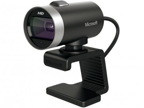 Webcam Microsoft LifeCam Cinema - Até 5MP HD Slide Show