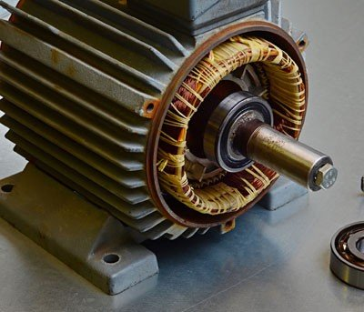Tipos de motor elétrico industrial