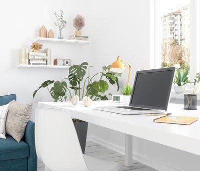 4 dicas pra decorar o home office