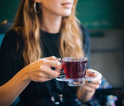 Cápsula de chá: muito prático