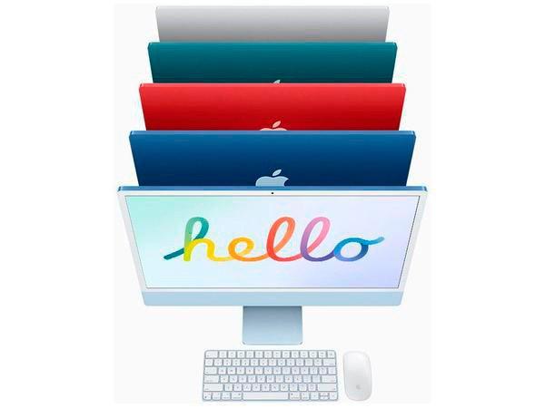 Arrase com o iMac colorido